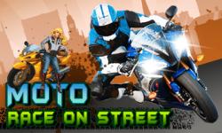 MOTO RACE ON STREET screenshot 1/1