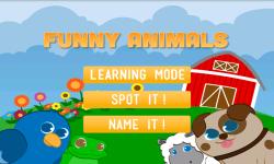 Funny Animals for babies screenshot 4/4