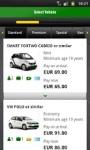 Europcar screenshot 2/5