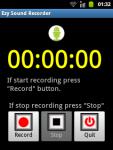 Ezy Sound Recorder screenshot 1/3
