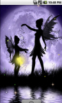 Lovely Fairy Night Live Wallpaper screenshot 1/4