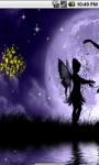 Lovely Fairy Night Live Wallpaper screenshot 2/4