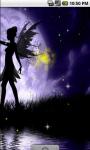 Lovely Fairy Night Live Wallpaper screenshot 3/4