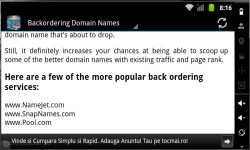 Domain Name Profits screenshot 3/3