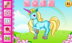 Unicorn Dress Up screenshot 1/6