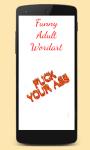 Adult Talk Stickers screenshot 2/4