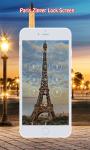 Paris Zipper Lock Screen screenshot 2/6