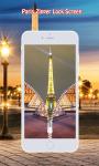 Paris Zipper Lock Screen screenshot 6/6