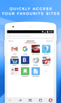 Opera browser: fast and safe screenshot 1/6