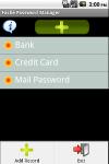 Facile Password Manager screenshot 1/1