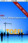 My TOEFL screenshot 1/1