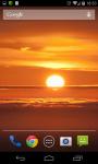 Sunset HD Live Wallpaper  screenshot 2/4