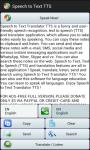 Speech to Text Translator TTS screenshot 5/6