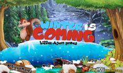 Free Hidden Object Games - Winter is Coming screenshot 1/4