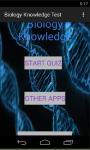 Biology Knowledge Test screenshot 1/6