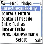 DaysToDay Spanish Version screenshot 1/1