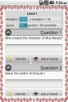 Literature Quiz Game screenshot 3/5