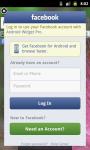 Facebook Widget fWidget screenshot 4/6