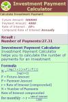 Investment Payment Calculator V1 screenshot 3/3