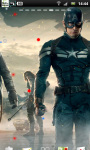 Captain America Winter Soldier LWP 5 screenshot 2/3