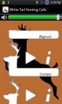 Whitetail Hunting Calls Free screenshot 3/3