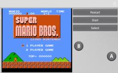 Game Super Mario screenshot 1/2
