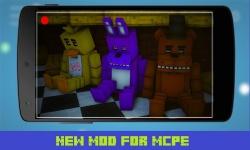 Five Nights at Freddy Mod MCPE screenshot 1/3