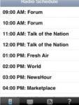 KQED Daily Schedule screenshot 1/1