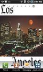 Los Angeles Live Wallpaper screenshot 1/3