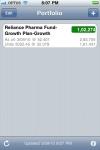 My Funds Lite - Indian Mutual Fund Portfolio Tracker screenshot 1/1