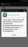Little Tiger LWP screenshot 4/4