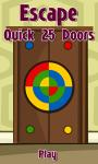 Escape Quick 25 Doors screenshot 1/5