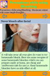 Precautions while using Bleaching screenshot 3/3