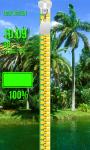 Zipper Lock Screen - Palm Tree screenshot 4/6