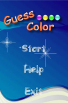 Guess  Color screenshot 1/4