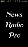News Radio  Pro screenshot 1/3