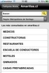 Amarillas.cl screenshot 1/1