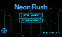 Neon Rush screenshot 1/4