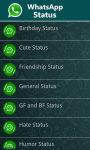 WhatsApp Status Messages screenshot 2/4