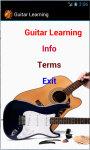 Guitar Learning screenshot 2/4