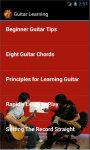 Guitar Learning screenshot 3/4