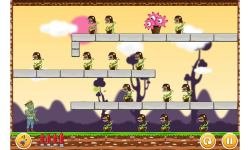 Undead vs Plants War - The Living Dead Slayer screenshot 3/5
