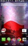 Poland Flag Live Wallpaper FREE screenshot 4/6