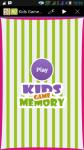 Fun Kids Game Memory screenshot 1/6