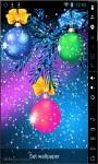 Nice Christmas Balls Live Wallpaper screenshot 1/2
