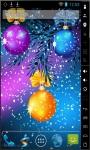 Nice Christmas Balls Live Wallpaper screenshot 2/2