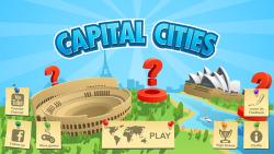Capital Cities: memory game screenshot 1/3