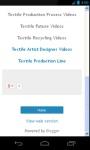 Textile Technology Videos screenshot 4/6