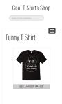 Cool T Shirts Shop screenshot 4/4