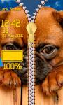 Zipper Lock Screen – Dogs screenshot 5/6
